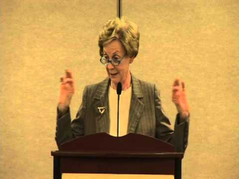 "Dr. Jill Ker Conway ""The Next 50 Years in the World"" (Part 1)"