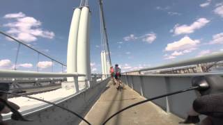 Tri Borough Bridge / Robert F. Kennedy Bridge bike path