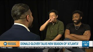 Donald Glover returns to acting in season two of 'Atlanta'