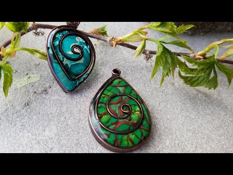 Easy Wire Clay and Resin Jewelry