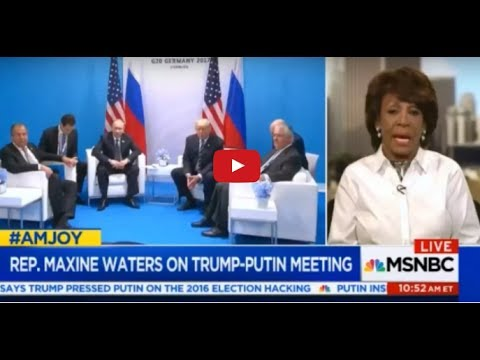 MAXINE WATERS TOLD THE BIGGEST LIE EVER ABOUT TRUMP!