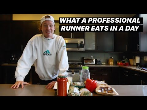WHAT A PRO RUNNER EATS IN A DAY | Cooking with Drew: EP 1