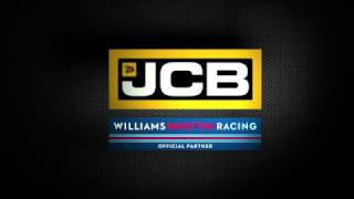 Williams Martini Racing Driver Lance Stroll, on JCB