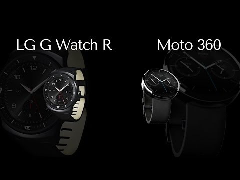 Moto 360 и с LG G Watch R - что лучше?
