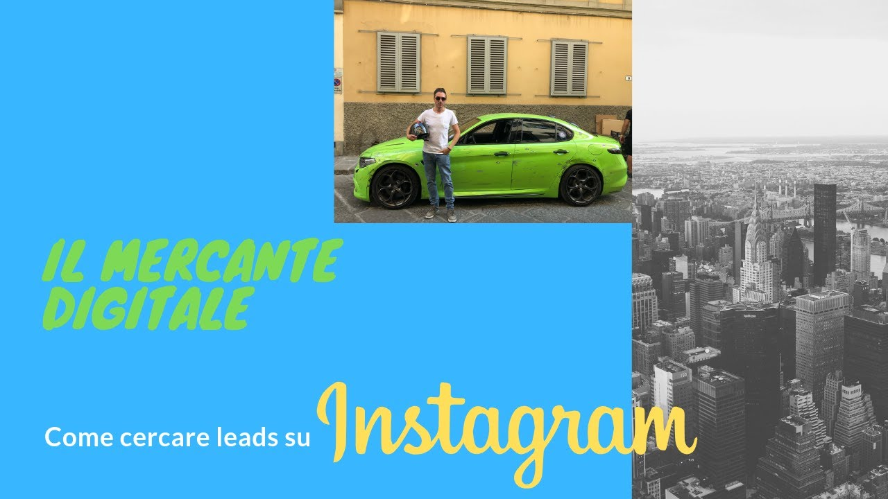 Come cercare leads su Instagram