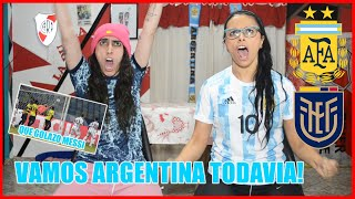 ARGENTINA vs ECUADOR | REACCION DE ARGENTINAS | MESSI SE MERECE LA COPA AMERICA | PASAMOS A SEMIS !!