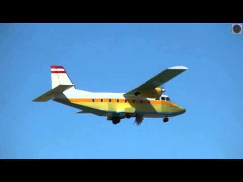Worlds Biggest RC - Candy Plane At Airshow / FULL HD
