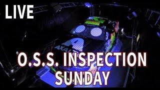 Live: (Sunday) Nascar Oss Inspection From Atlanta Motor Speedway