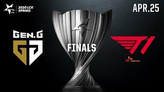 T1 vs GEN   FINAL H/L 04.25   2020 LCK 스프링