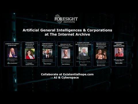 Internet Archive Presents Artificial General Intelligences & Corporations