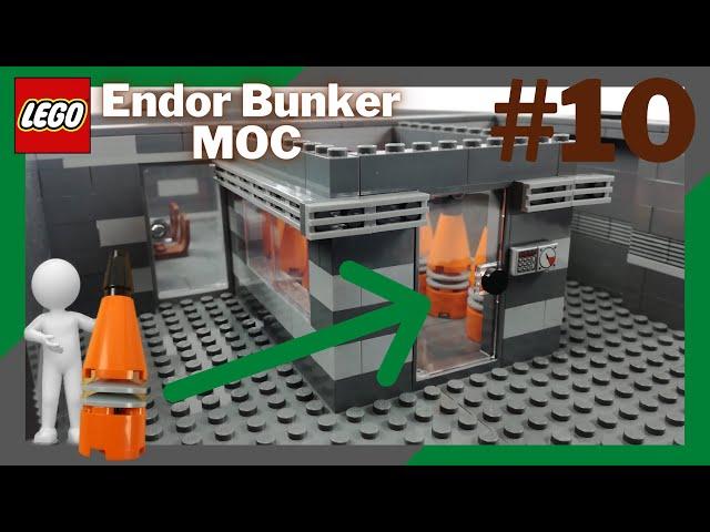 Die Energiegenratoren kommen rein!⚡️ | LEGO Endor Bunker Moc #10