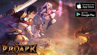 A Valiant Story Gameplay Android / iOS (Open World MMORPG)
