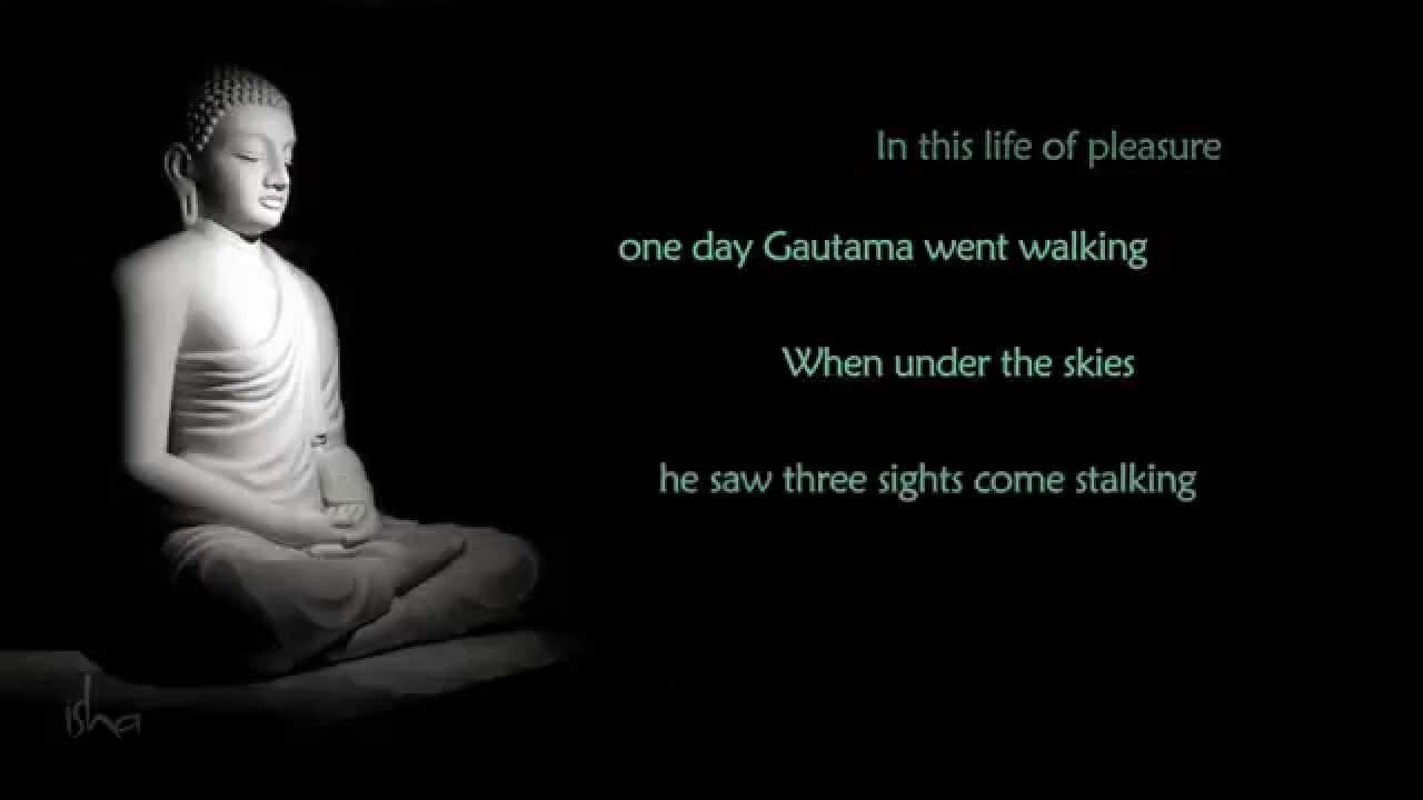 A Song For Buddha Isha Foundation Sounds Of Isha Youtube