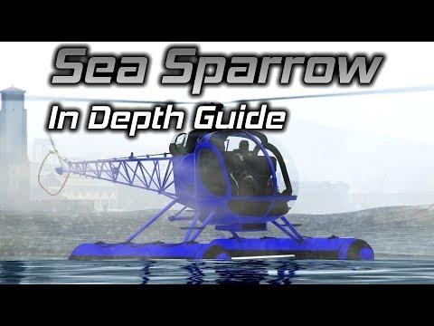 GTA Online: Sea Sparrow In Depth Guide and Buzzard Comparison
