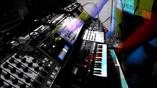 They All Float Down 303 Acid Techno Experimental Live Hardware Session 23 Oct 2017