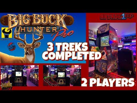 ARCADE1UP BIG BUCK HUNTER PRO 3 TREK GAME PLAY   PART 1 from GameMom77