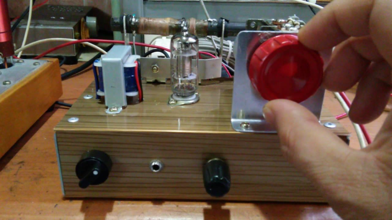 1 tube regen radio 2p2 youtube. Black Bedroom Furniture Sets. Home Design Ideas