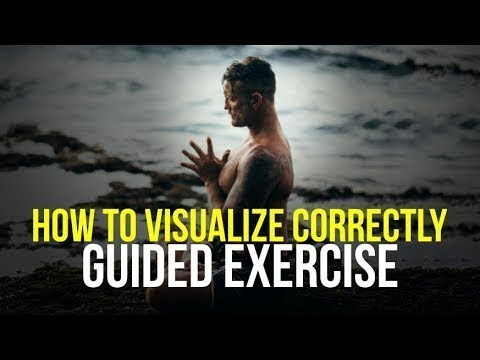 Success Motivation Clip - GUIDED VISUALIZATION EXERCISE - How to Perform Visualization Correctly
