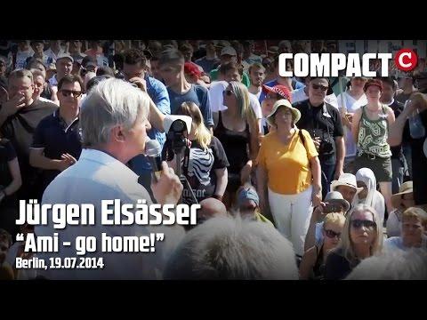 «Jeder anständige Deutsche hat die Pflicht, der Kriegshetze zu widerstehen»