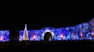Новогоднее шоу на Дворцовой ч2