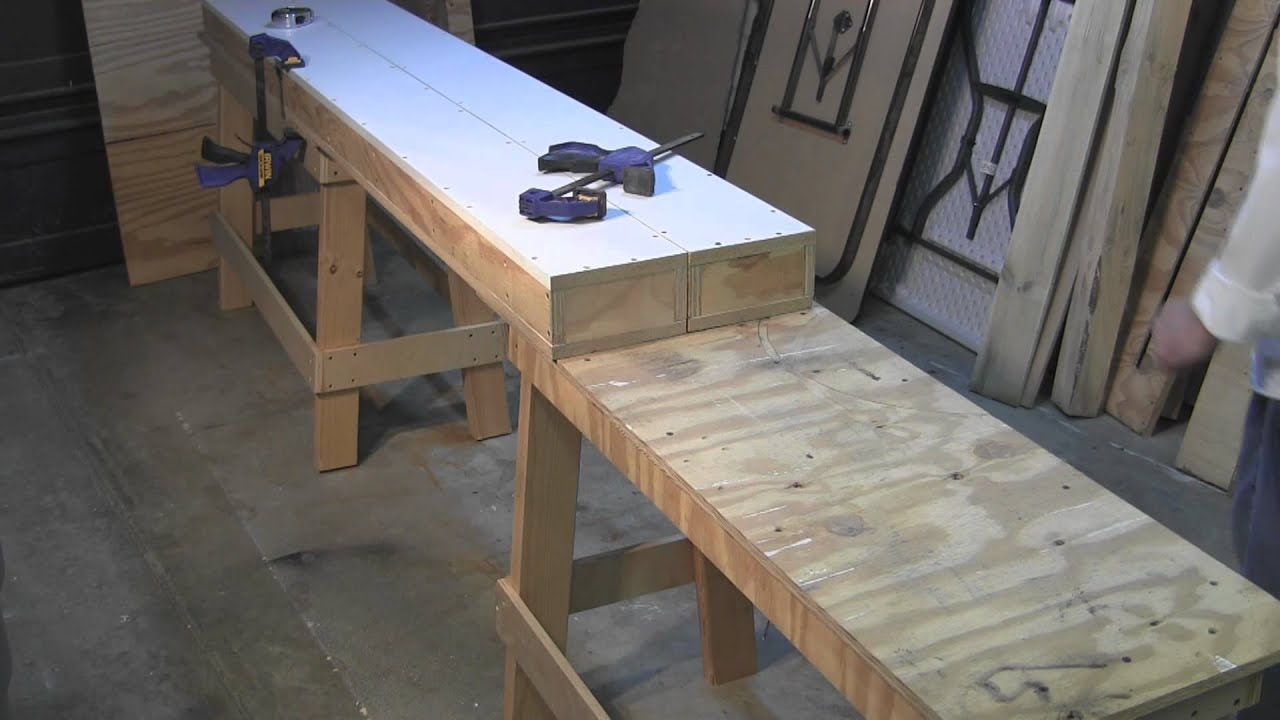 Why you need to build a new portable, modular work bench
