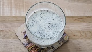蘭香籽牛奶  How to make Chia Seeds Drink