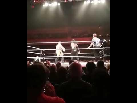 Roman Reigns vs Samoa Joe | London United kingdom | WWE live event