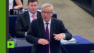 «Vous êtes ridicules !» : Juncker s'emporte à Strasbourg devant un Parlement presque vide