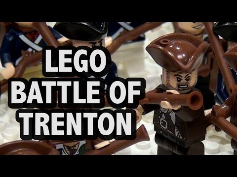LEGO Battle of Trenton | American Revolutionary War 1776