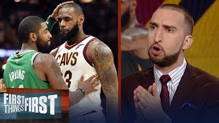 Nick Wright reacts to LeBron