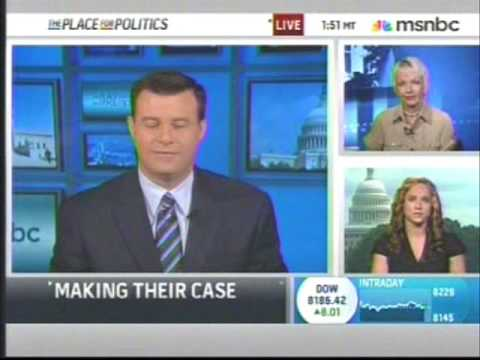 Jane Hamsher on MSNBC Healthcare Reform, Public Option, 7-9-9