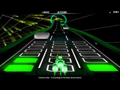 [Audiosurf] D-Tune - Kingz Of The Music (Sunics Remix)