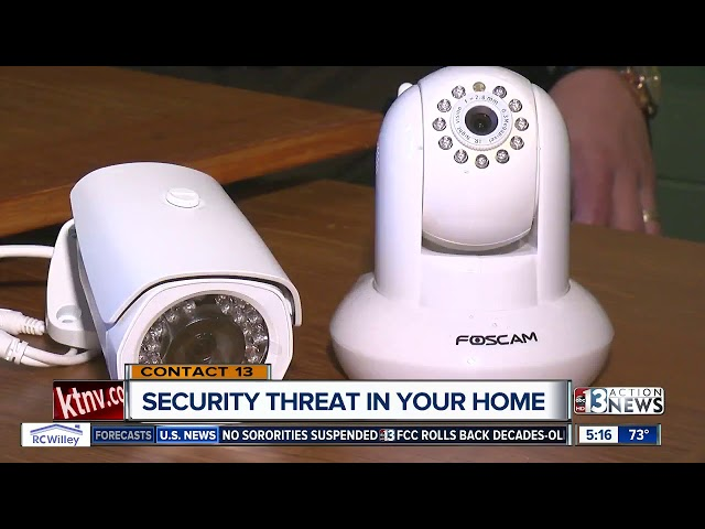 CONTACT 13 explains how to stop hackers from accessing your home security cameras