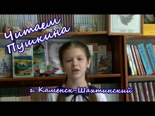 Изображение предпросмотра прочтения – СофьяКушнарева читает произведение «Осень» А.С.Пушкина