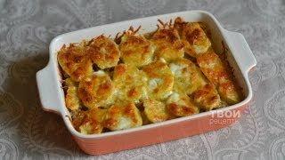 Картофельная запеканка с фаршем (Potato casserole with meat)