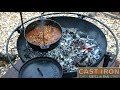 CAST IRON WEDNESDAY DUTCH OVEN CHILE OPEN FIRE PIT