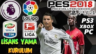 PES 2018 LICENSE MODEL AND INSTALLATION - BEST