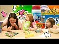 BRITISH SISTERS TRYING SUPER SOUR AMERICAN CANDY!