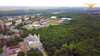 Dunaújváros, Belváros (Drón, 4K)