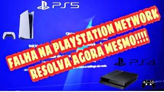Falha PlayStation Network..problema resolvido