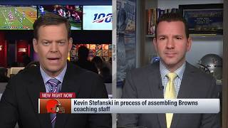 Ian Rapoport Updates On Kevin Stefanski Assembling Browns Coaching Staff | Cleveland Browns