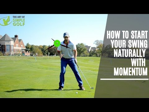 How To Start Your Golf Swing The Best And Natural Way With Momentum