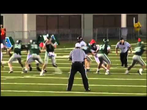 Skyline QB Max Browne Bounce Pass