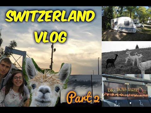 Switzerland vlog 2 | Alpacaaas! (Zürich, Shaffhausen)