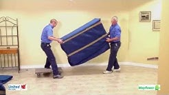 Highland Moving: How to Blanket Wrap a Dining Room Buffet Bottom