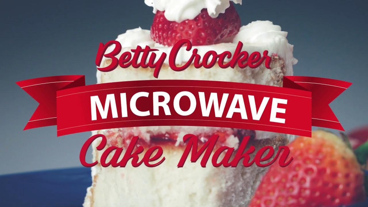 Jwp Betty Crocker Microwave Cake Maker Youtube
