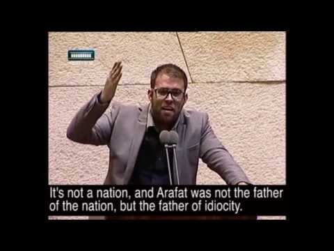 MK Oren Hazan: There's no Palestinian Nation, only Palestini