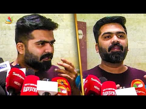 My Next Move for Cauvery Issue : Simbu Bold Speech | Piyush Manush | Press Meet