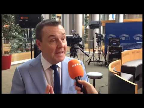 "Mark Demesmaeker, Deputy in the European Parliament for the ""New Flemish Alliance"""