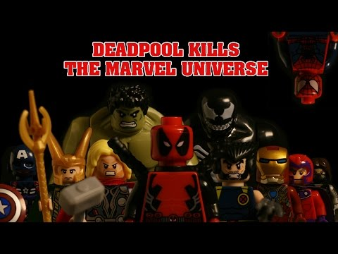 LEGO Deadpool Kills The Marvel Universe